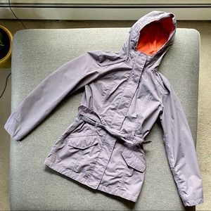 The North Face   Lightweight Belted Trench Coat